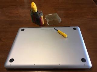 Macbook メモリ交換